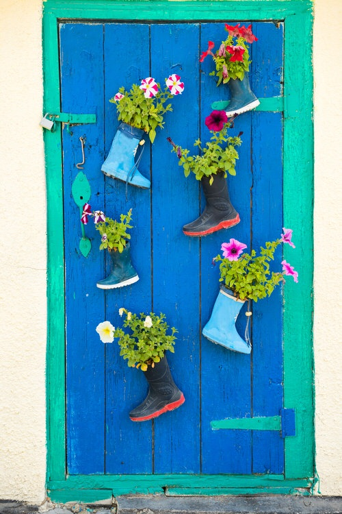 Rainbow Vertical Garden Ideas 5