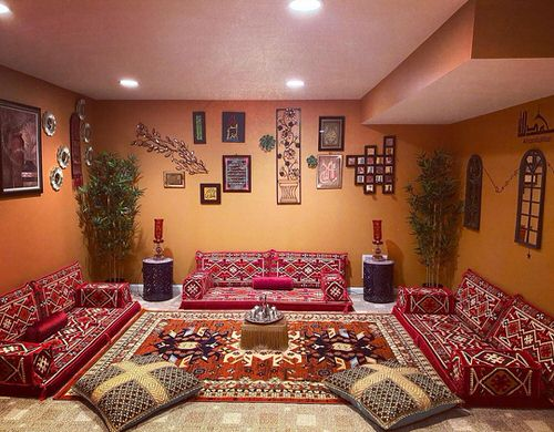 Moroccan Décor with Plants 6