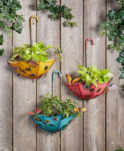 Rainbow Vertical Garden Ideas 7