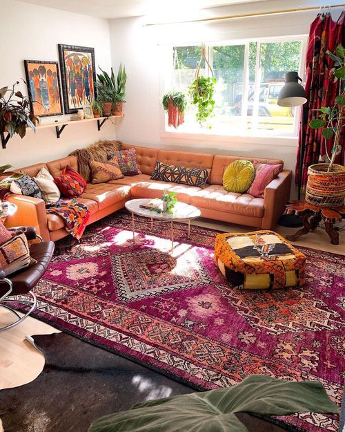 Moroccan Décor with Plants
