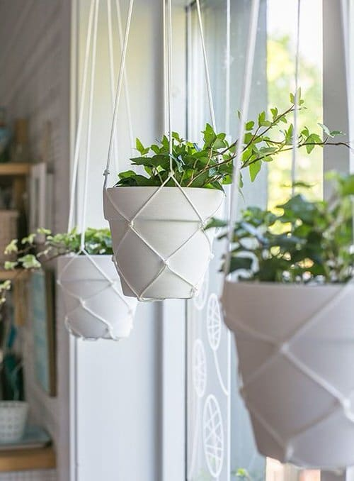 DIY Plant Hanger Ideas 11