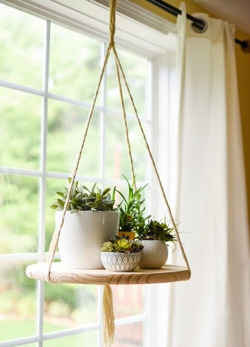 DIY Plant Hanger Ideas 2