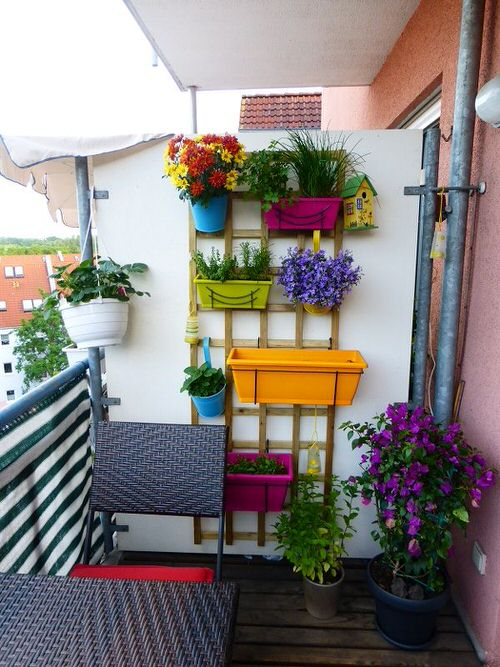 Rainbow Vertical Garden Ideas 2