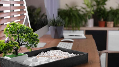 Work from Home Zen Space Ideas 4