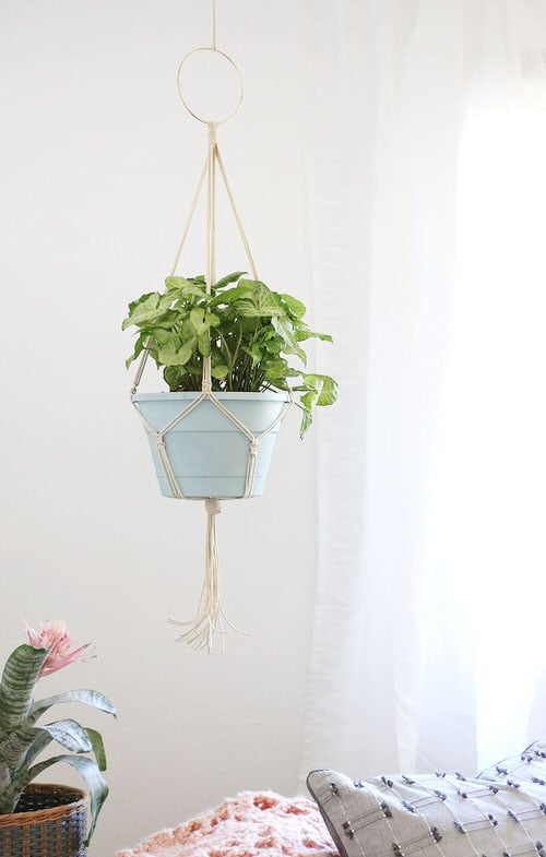 DIY Plant Hanger Ideas 10