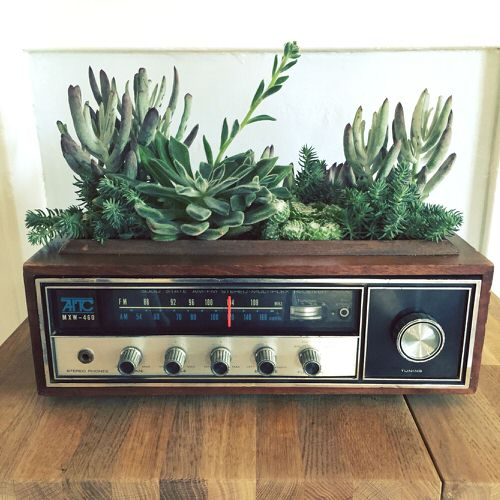 Old Electronic Items Used to Grow Pants Ideas
