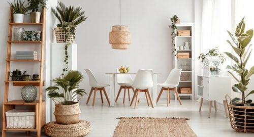 Indoor Plants Dining Room Décor Ideas 22
