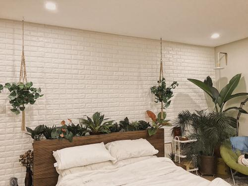 Plant Headboard Ideas for Ultimate Houseplant Lovers 8