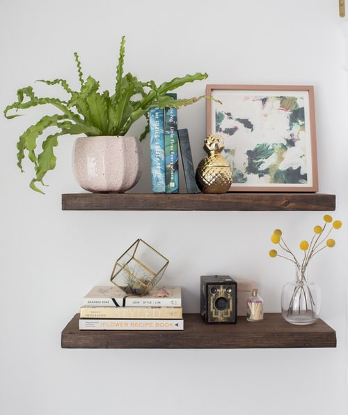 DIY Indoor Plant Shelves Ideas 10