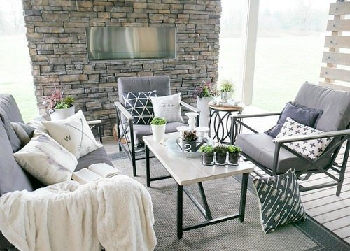 Extremely Beautiful Drawing Room Décor Ideas with Succulents 2