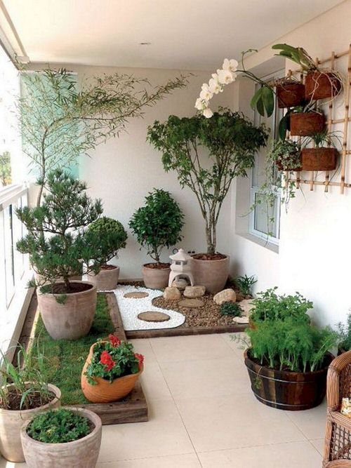 Create a Tropical Garden Oasis in a Balcony With These Ideas 2