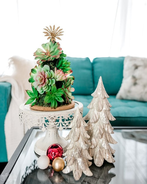 Succulent Christmas Trees 2