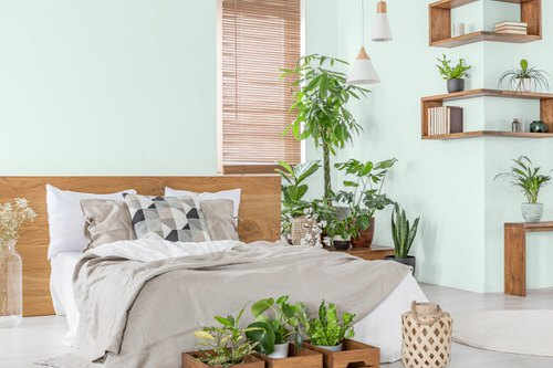 Awesome Indoor Plant Bedroom Pictures 7