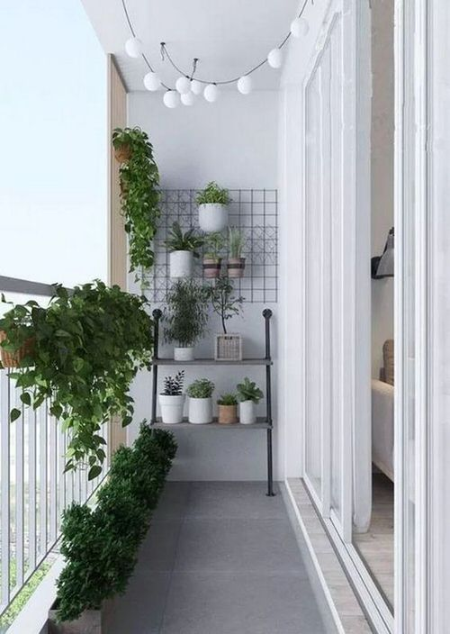 The Best Decorated Small Outdoor Balconies on Pinterest 9