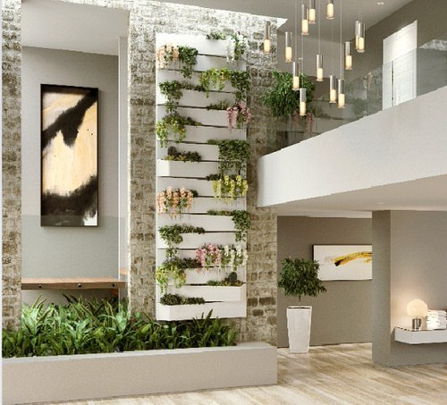 Old Wooden Boards Used to Create Brilliant Vertical Gardens 7