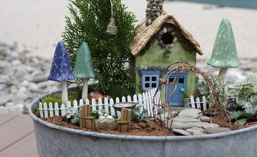 DIY Miniature Fairy Garden Ideas 8