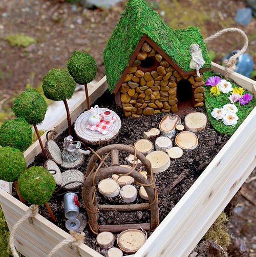 DIY Miniature Fairy Garden Ideas 9