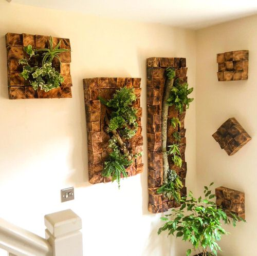 Old Wooden Boards Used to Create Brilliant Vertical Gardens 10