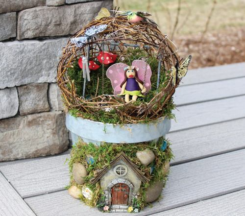 DIY Miniature Fairy Garden Ideas 11