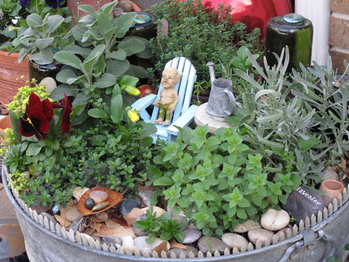 DIY Miniature Fairy Garden Ideas 13