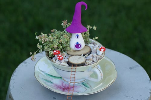 DIY Miniature Fairy Garden Ideas 14