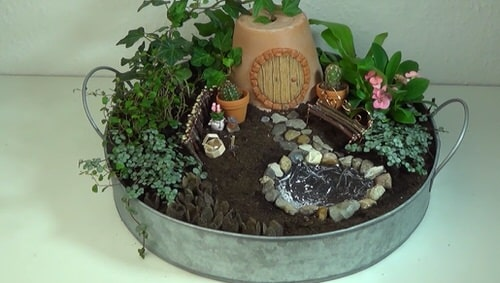 DIY Miniature Fairy Garden Ideas 19