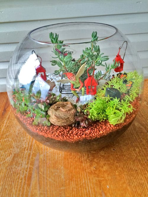 DIY Miniature Fairy Garden Ideas 2