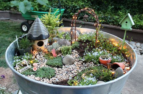 DIY Miniature Fairy Garden Ideas 24