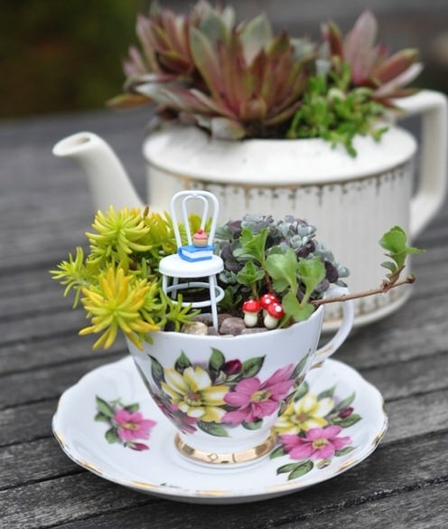 DIY Miniature Fairy Garden Ideas 3