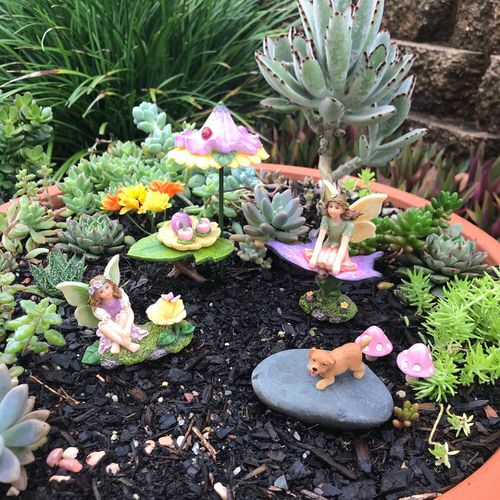 DIY Miniature Fairy Garden Ideas 30