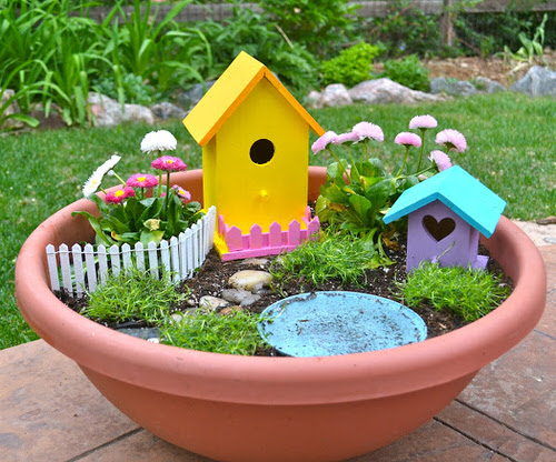 DIY Miniature Fairy Garden Ideas 50