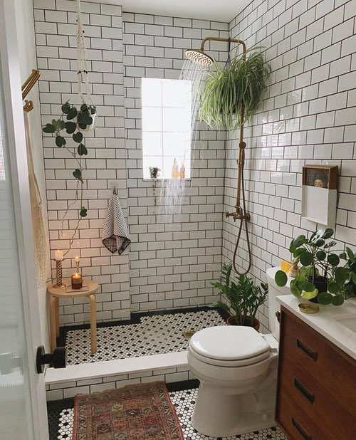 Pictures of Bathroom with Plants 7