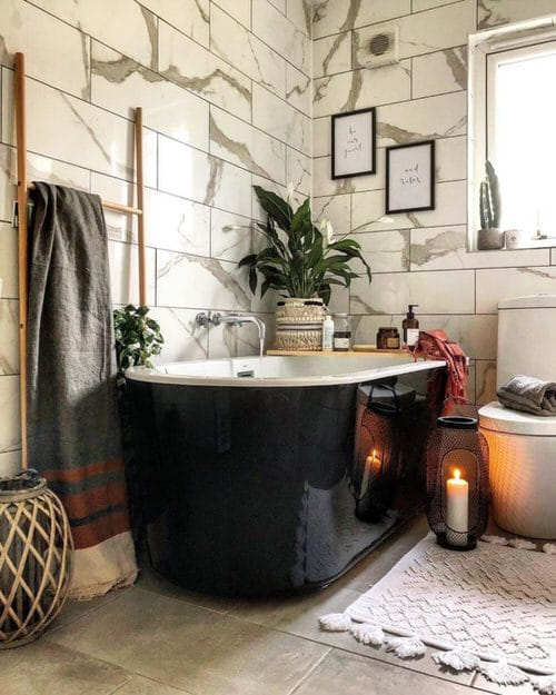 Pictures of Bathroom with Plants 10