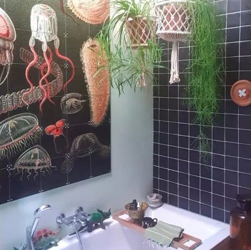 Pictures of Bathroom with Plants 12