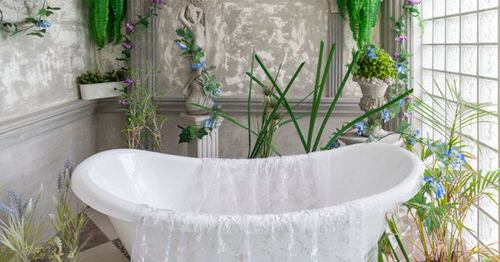 Pictures of Bathroom with Plants 4