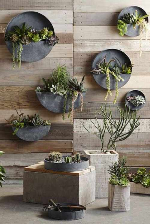 Industrial Garden Ideas from Used Items 102