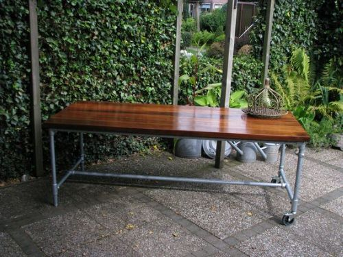 Industrial Garden Ideas from Used Items 2